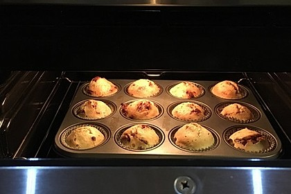Schnelle Schoko - Bananen - Muffins 26