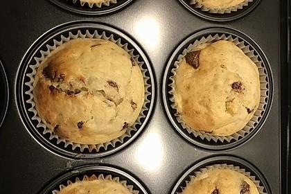 Schnelle Schoko - Bananen - Muffins 28