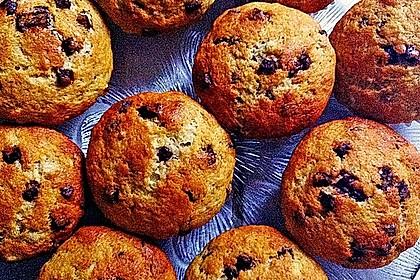 Schnelle Schoko - Bananen - Muffins 25