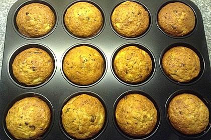 Schnelle Schoko - Bananen - Muffins 31