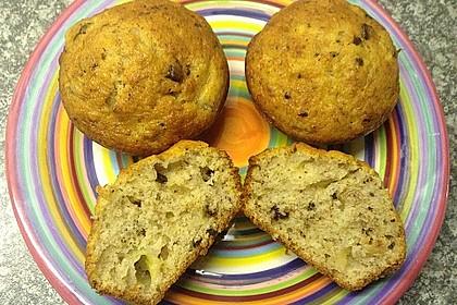 Schnelle Schoko - Bananen - Muffins 47