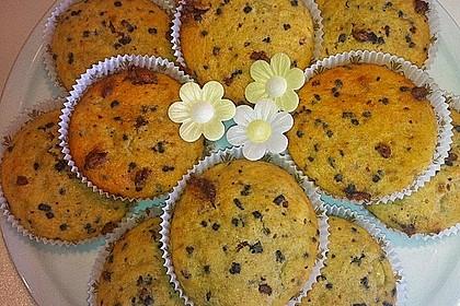 Schnelle Schoko - Bananen - Muffins 20