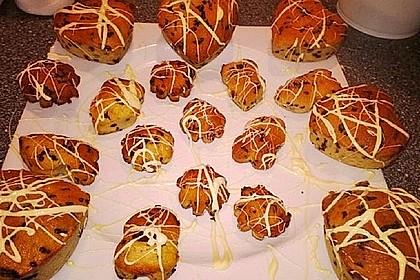 Schnelle Schoko - Bananen - Muffins 85