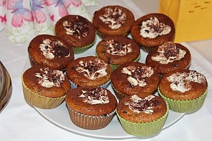 Schnelle Schoko - Bananen - Muffins 39