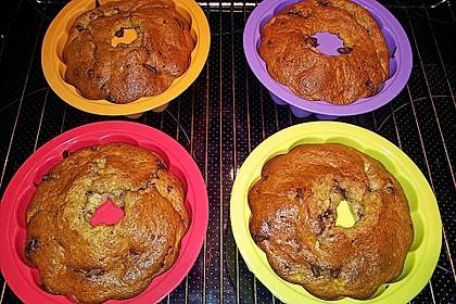 Schnelle Schoko - Bananen - Muffins 44