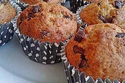 Schnelle Schoko - Bananen - Muffins 21