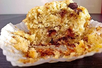 Schnelle Schoko - Bananen - Muffins 86