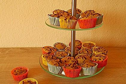 Schnelle Schoko - Bananen - Muffins 13