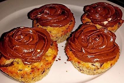 Schnelle Schoko - Bananen - Muffins 73