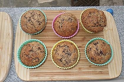 Schnelle Schoko - Bananen - Muffins 37