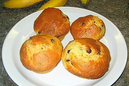 Schnelle Schoko - Bananen - Muffins 72