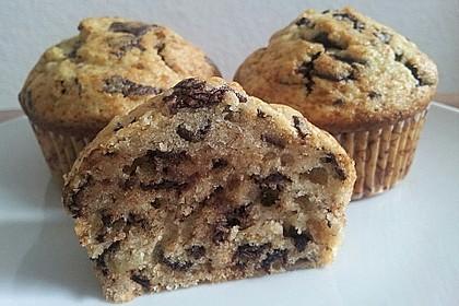 Schnelle Schoko - Bananen - Muffins 5