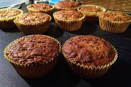 Schnelle Schoko - Bananen - Muffins 62