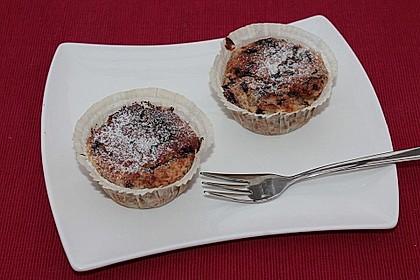 Schnelle Schoko - Bananen - Muffins 80