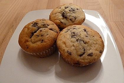 Schnelle Schoko - Bananen - Muffins 32