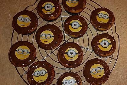 Schnelle Schoko - Bananen - Muffins 30