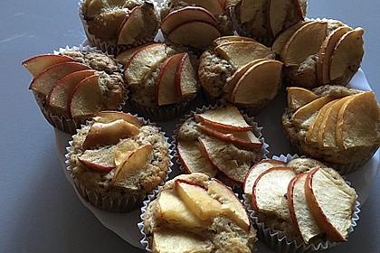 Schnelle Schoko - Bananen - Muffins 71