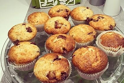 Schnelle Schoko - Bananen - Muffins 38