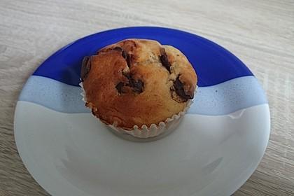 Schnelle Schoko - Bananen - Muffins 49