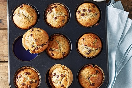 Schnelle Schoko - Bananen - Muffins 7