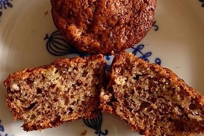 Schnelle Schoko - Bananen - Muffins 57