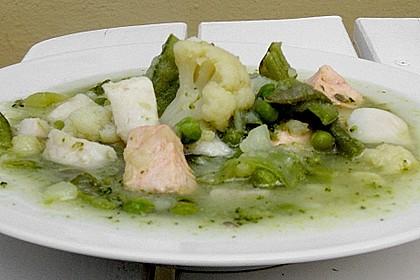 Fischsuppe 'kaiserlich'