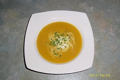 Karotten - Apfel - Ingwer - Samtsuppe