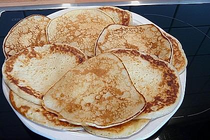 Pfannkuchen mit Joghurt und Ahornsirup 5