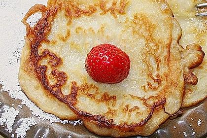 Pfannkuchen mit Joghurt und Ahornsirup 9