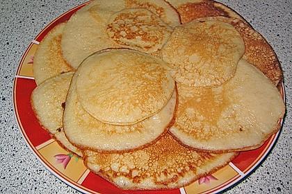 Pfannkuchen mit Joghurt und Ahornsirup 6