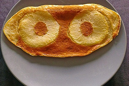 Pfannkuchen mit Joghurt und Ahornsirup 11