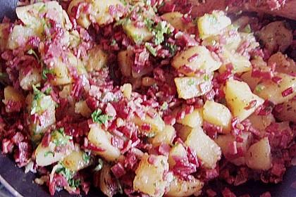 'Kartoffelspeis' (Wurstkartoffeln) 1
