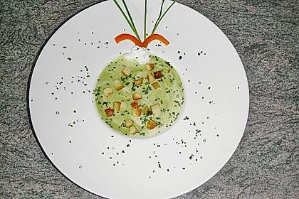 Brokkoli - Schaumsuppe