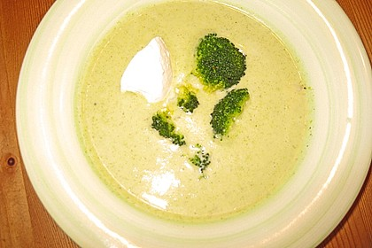 Brokkoli - Schaumsuppe 1