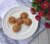 Zimtschnecken aus Blätterteig (Bild)