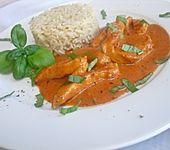 Hähnchenbrust mit Tomaten-Balsamico-Sauce (Bild)