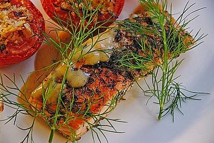 Würzlachs mit Meerrettich-Kartoffelgratin 2