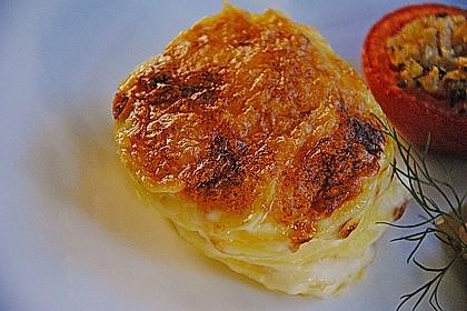 Würzlachs mit Meerrettich-Kartoffelgratin 6