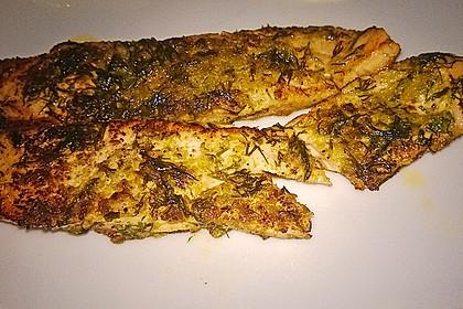 Würzlachs mit Meerrettich-Kartoffelgratin 15