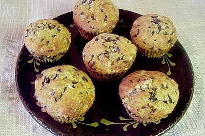 Schoko - Bananen - Muffins 2