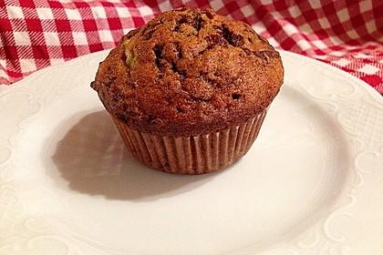 Schoko - Bananen - Muffins 3