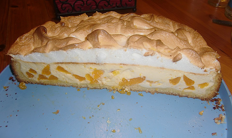 Mandarinen Quark Kuchen Mit Baiserhaube Von Alcar75 Chefkoch De
