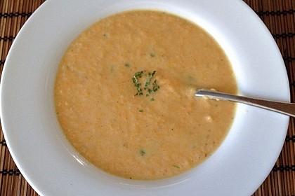 Leckere Kartoffel - Möhren - Suppe 31