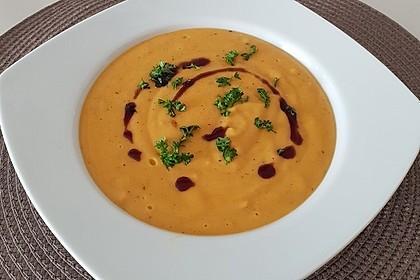 Leckere Kartoffel - Möhren - Suppe 1