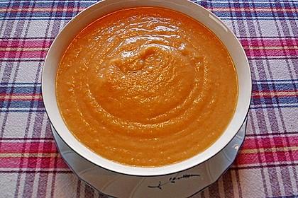 Leckere Kartoffel - Möhren - Suppe 15