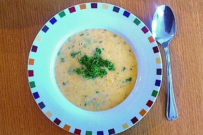 Leckere Kartoffel - Möhren - Suppe 27
