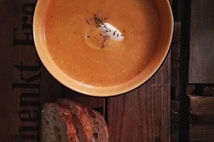 Leckere Kartoffel - Möhren - Suppe 20