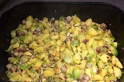 Kartoffel-Rosenkohl-Pfanne 18