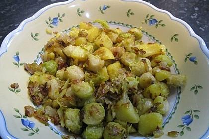 Kartoffel-Rosenkohl-Pfanne 21
