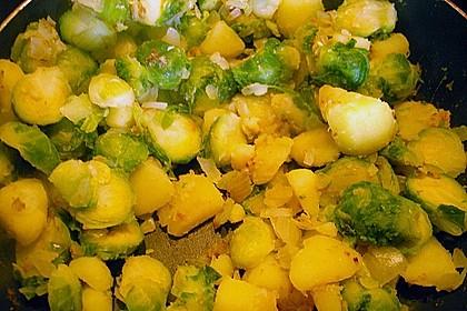 Kartoffel-Rosenkohl-Pfanne 20